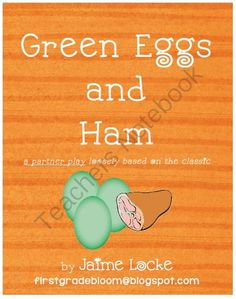 Readers Theater: Green Eggs & Ham from The First Grade Bloom on TeachersNotebook.com -  (6 pages)  - This is a short partner play, loosely based on the Dr. Seuss classic.  Kids will have fun bringing the book to life and working on their fluency (pace, phrasing and expression). Make groups of 4 and 1 set of partners can perform for the other. Wrap up thi