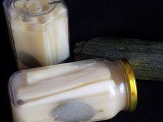 magiczna kuchnia Kasi: Cukinia w zalewie musztardowo-miodowej