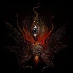 Manifestation of my demon brother (vision III)   2016 by Daniele Valeriani