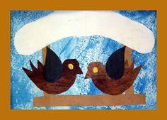 www.pripravy.estranky.cz - Fotoalbum - 02 NÁMĚTY DO VV - Náměty do VV a PV Birds 2, Winter Ideas, Art Lessons, Kids Crafts, Symbols, Projects, Painting, Pictures, Photograph Album