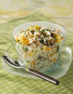 Salade de riz - Faire cuirele riz au préalable.