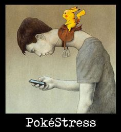 """Such Blog. Much Witticism. So Observational.  """"Judging by her grimace, I assume she digs my taste in PokéFlirts. Either that or she's comatose by now, hence the drooling.""""   #pokéstress"""