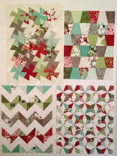 For my fellow pinners who are in to DIY. Quilted Christmas ...