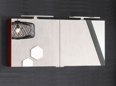 Armoire de Toilette Salle de Bain | Delpha Wall Lights, Mirror, Home Decor, Toilets, Appliques, Decoration Home, Room Decor, Mirrors, Interior Design