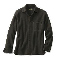 Boiled Wool Overshirt - Orvis