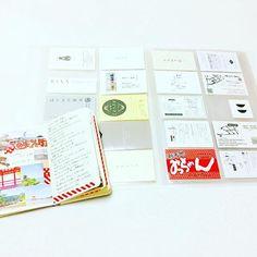 chii1310モレスキンとカード💳 . . ショップカードは、いつも2枚くらいもらってきて、1枚はコラージュに、1枚は保存用にしてる。 広島、愛媛の旅のカケラたち。2017/05/10 21:16:01