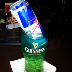 Irish trash can drink! Super classy and oh so yummy! :)