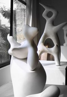 Jean Arp. (Don't know if this is clay.)