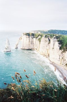 Free Your Wild :: Seek Adventure :: Travel the World :: Destinations & Inspiration :: See more Untamed Wanderlust :: normandy Places Around The World, Oh The Places You'll Go, Places To Travel, Places To Visit, Etretat Normandie, Etretat France, Falaise Etretat, Magic Places, Ville France