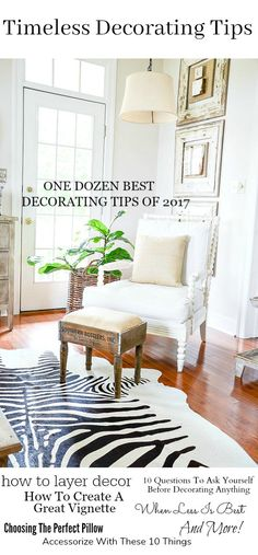 The week between Christmas and New Year is a great time of reflection and settling down after the festive and chaotic frenzy of Christmas. Today's post is a virtual goldmine of decorating tips and advice. This is a post to pin so you can have all this great information whenever you need it. So let's more »