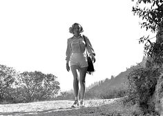 Marilyn Monroe at Griffith Park, Los Angeles. Photo by Ed Clark, August 1950.