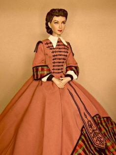 Business Mill Scarlett - Mrs.Hamilton Scarlett wears Tonners Business Mill (repainted face)