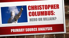 """christopher columbus a villain """"christopher columbus writes very favorably about the natives he met and dealt  with,"""" delaney told the college fix """"he continually told his."""