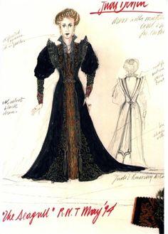 The Seagull (Arkadina). National Theatre, London. Costume design by Fontini Dimou.