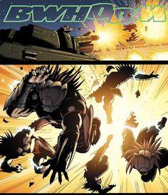 BWHOOM! #Predator #PredatorClan #PredatorTribe #Predatorcomics #Yautja #alien #Predator #PreyToTheHeavens #horror #DarkHorseBooks #DarkHorseComics #Comics #JavierSaltares #Predator2009 #JohnArcudi