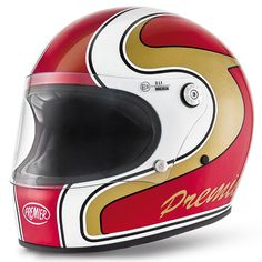 Premier Trophy helmet - red