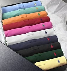 Ralph Lauren Polo Classic Ten-Pack - a man's staple diet !