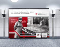 100 Jahre Hochbahn - Jahr 3. Mobilie Köpfe. Menschen, die Hamburg bewegen. Themenschwerpunkt im dritten Jahr bildeten die Fahrer der Busse und U-Bahnen und die zahlreichen Helfer hinter den Kulissen, die für die Mobilität der Hamburger sorgen. Genau wie vor fast 100 Jahren prägen diese das Bild des Nahverkehrs in Hamburg. Mehr http://orange-cube.de/static.php?page=100-jahre-hamburger-hochbahn-6