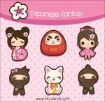 Japanese Fantasy Designs  by *A-Little-Kitty  Digital Art / Vector / Miscellaneous©2010-2011 *A-Little-Kitty