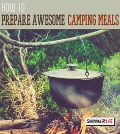 Follow these fun camping hacks to save time, space, and money on your next family trip! http://survivallife.com/2014/12/29/camping-hacks-2-outdoor-dining/