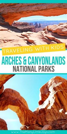 If you're going to Southern Utah, check out these ideas for fun, family-friendly things to do while traveling with kids in the Arches and Canyonlands National Parks. Hiking With Kids, Road Trip With Kids, Travel With Kids, Family Travel, Family Trips, Family Vacations, Grand Canyon, Bryce Canyon, Utah Vacation