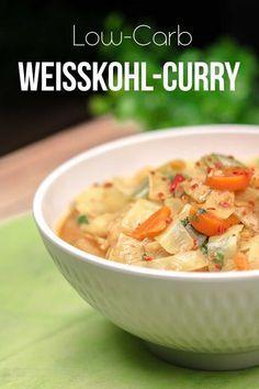 Das Weißkohl-Curry ist lowcarb, glutenfrei und super lecker.