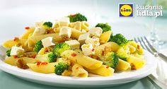 Makaron z pikantnymi brokułami.  Kuchnia Lidla - Lidl Polska #kuchniawloska #makaron