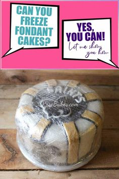 Can You Freeze a Fondant Decorated Cake? Yes, you can! Following the step-by-step instructions, you can successfully freeze and thaw a fondant decorated cake without damaging the decorations. #freezecake #freezefondantcake #frozencake #decoratedcake
