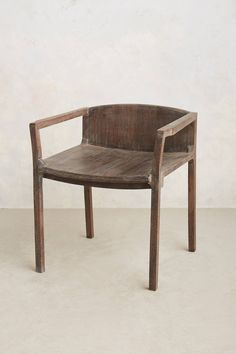 Handcarved Gallery Chair - anthropologie.com