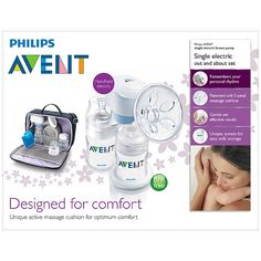 Baby Shop   Babies Products   Online Baby Store - Baby Kingdom - Avent Philips Electronic Breast Pump Out and About Set