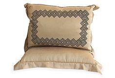 VSI Cashmere Embroidered Pillows, Pair on OneKingsLane.com
