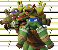 i love this so much! it's so adorable! i can't handle Raph's face awww