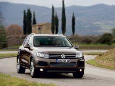 The new VW Touareg