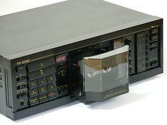 Nakamichi RX-505 Cassette deck  Nakamichi's art of auto-reverse system with zero azimuth - www.remix-numerisation.fr - Rendez vos souvenirs durables ! - Sauvegarde - Transfert - Copie - Restauration de bande magnétique Audio