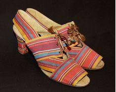 1930's beach shoes/sandals