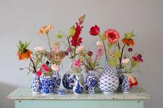 Flower Monday (part - Happy Handmade living - Flower Monday (part – Happy Handmade living - Deco Floral, Arte Floral, Floral Design, Fresh Flowers, Beautiful Flowers, Deco Boheme, Ikebana, Flower Vases, Flower Designs