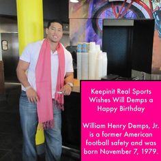 keepinitrealsports.com Will Demps, Happy Birthday William, Sports Birthday, American Football, Birthdays, Anniversaries, Football, Birthday, Birth Day