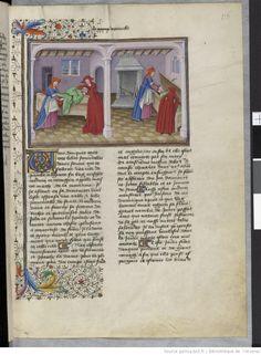 Fol 176r.  Decameron. Boccace. Laurent de Premierfait. 15th c. Ms-5070