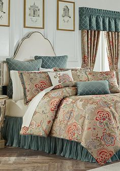 Just got this set for my birthday, its beautiful!!! Biltmore® Virginia Bedding Collection - Belk.com