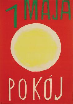 Wojciech Fangor & Henryk Tomaszewski, 1 Maja pokoj, 1960