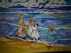 """""""Mare"""" Watercolors Winsor &Newton su cartoncino Winsor &Newton"""