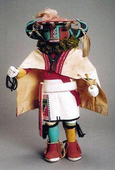 Hopi Badger Kachina c.1960
