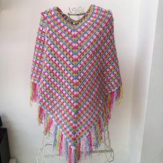 CRAFTY RED: Crochet Poncho