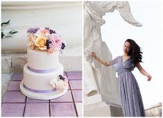 Fine art Wedding, Wedding Cake, Lilac & Blush Rosé, Vienna Bridal Inspiration, Fine art Wedding by Daniela Porwol Photography