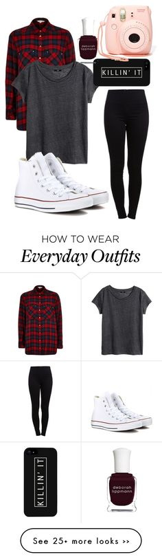 """Everyday lazy outfit"" by nnarinian-1 on Polyvore"