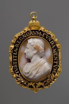 Cameo: Emperor Francis I.  Upper Italian (Cremona),  before 1840  Artist: Giovanni Beltrami  Cremona 1777 - 1854 Cremona