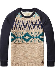 Half Knitted Sweater