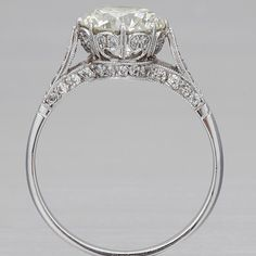 Holy mother! This is beautiful! Edwardian Engagment Ring