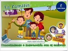 """La familia"" (Medio Social de Educación Infantil) Ideas Para, Spanish, Family Guy, Cultural, Fictional Characters, Santa Ana, Mayo, English, Blog"