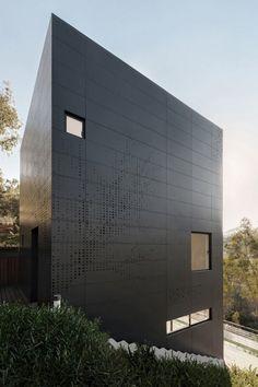 Cette maison de villégiatures baptisée Casa Alta est réalisée par le duo d'architectes Fernando Velasco et Paola Morales du studio AS/D Asociación de Diseñ